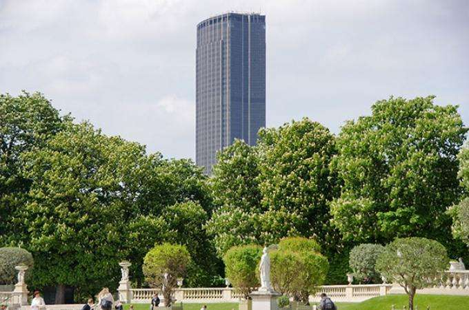 Montparnasse, one of the most famous parisian districts
