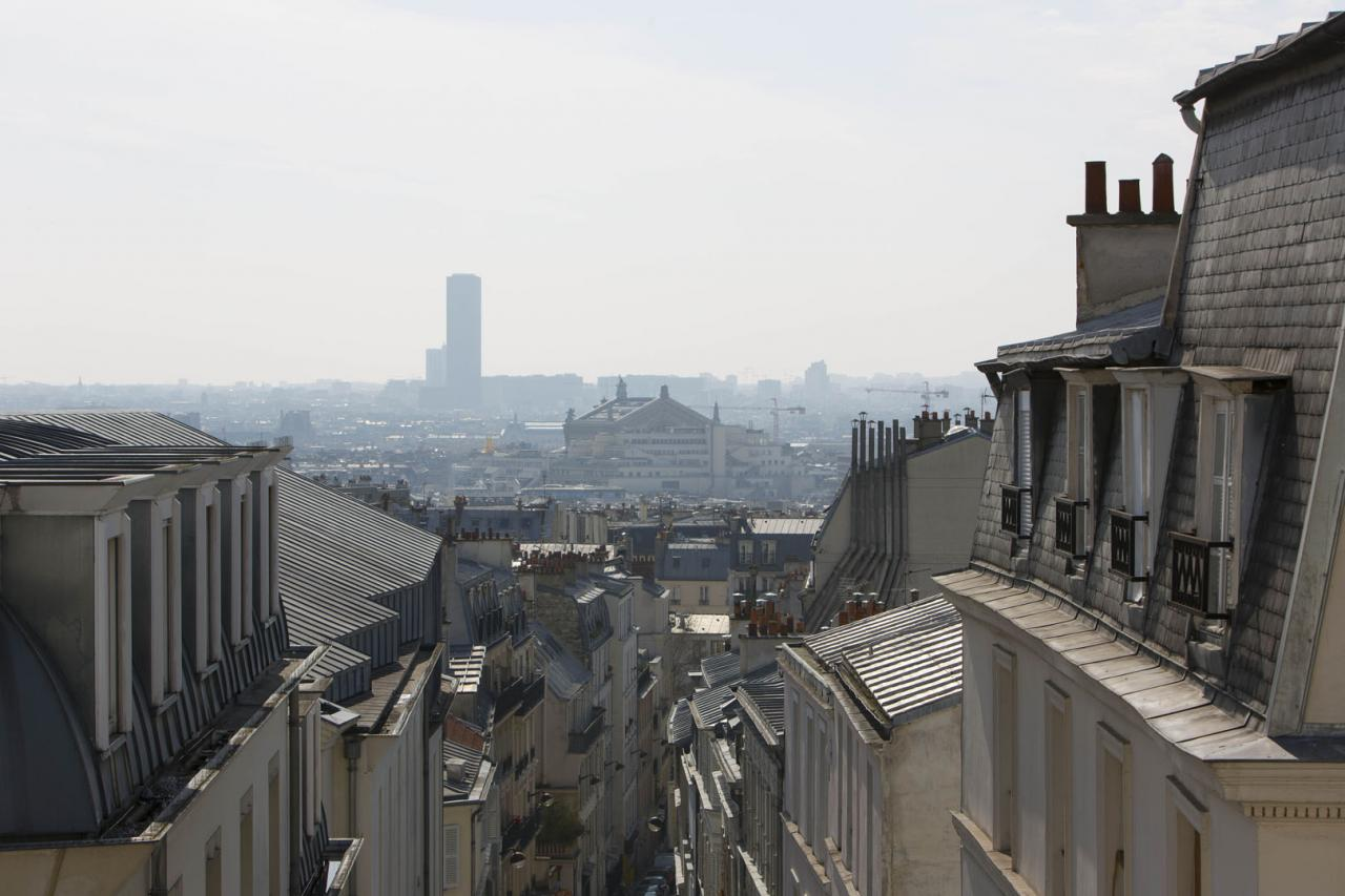 Montmartre Résidence Paris - Appartement - Vue de Paris
