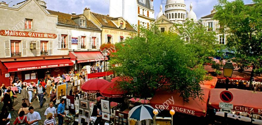 Places to go in Montmartre