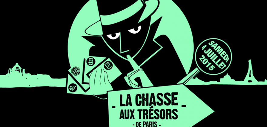 This weekend, a giant treasure hunt through the streets of Paris