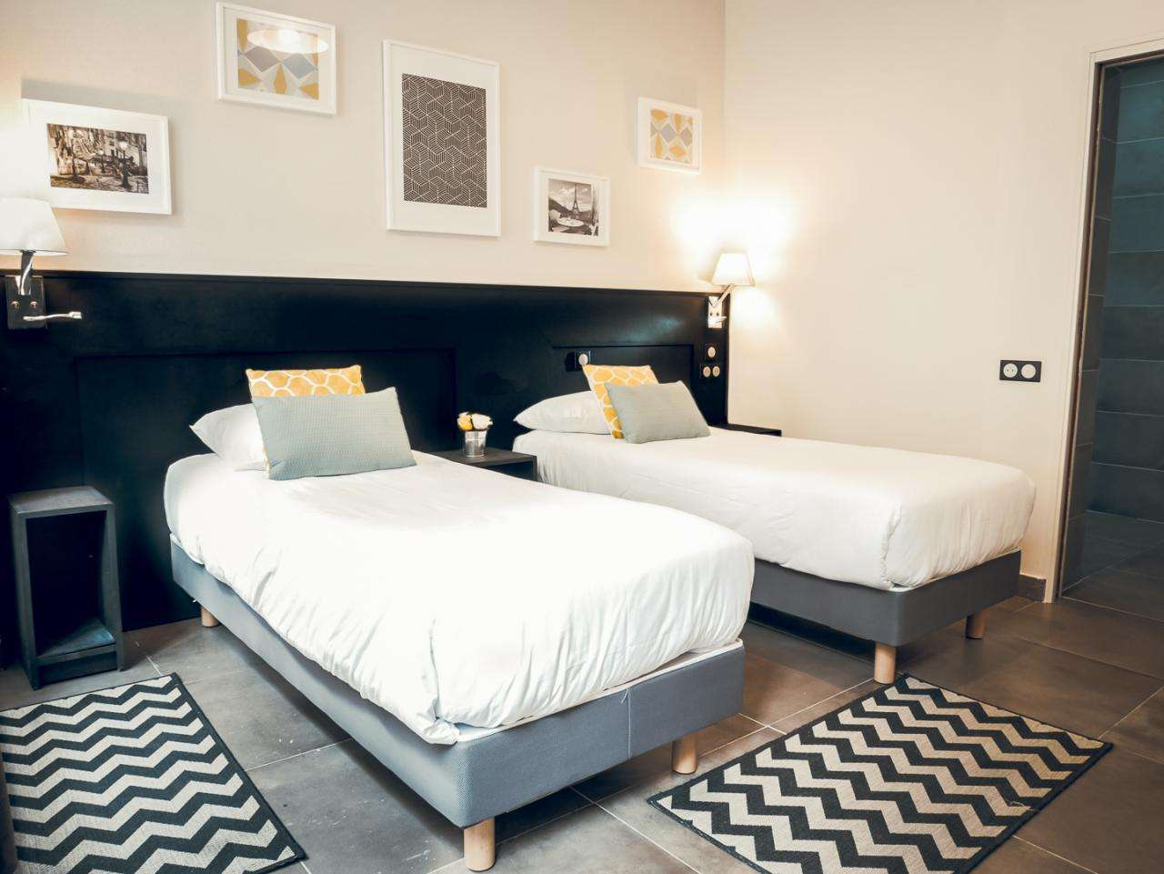 Hotel Bonsejour - PMR Twin Room