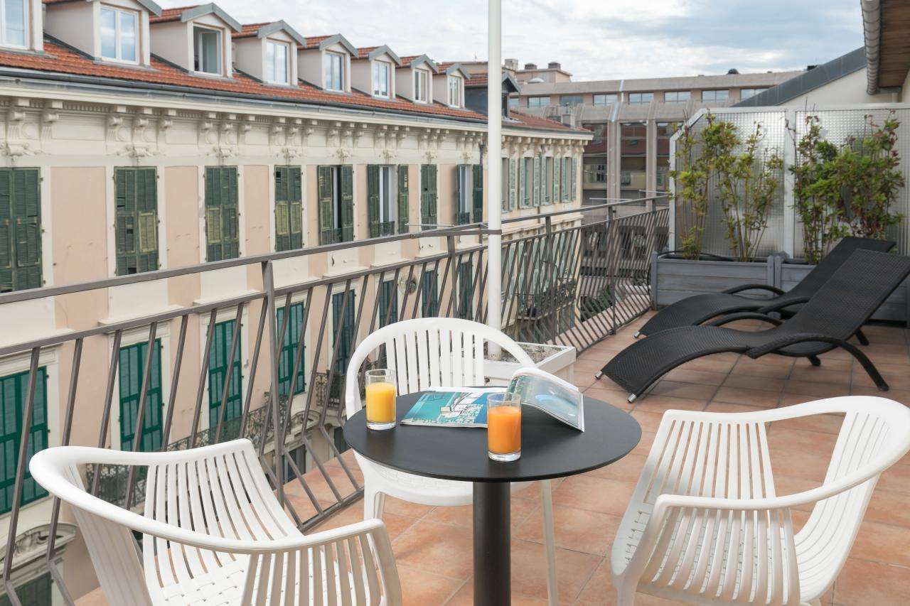 Hôtel Florence Nice - Chambre - Terrasse