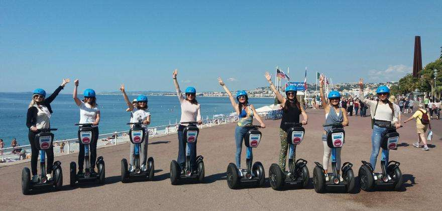 Eco-friendly tourism: Visit Nice by e-bike and Segway!