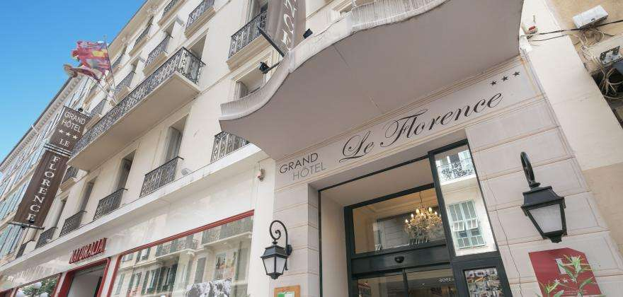 Welcome to the new website of the hotel Florence Nice