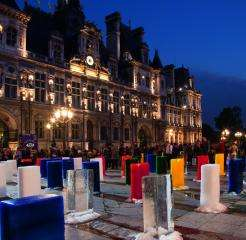 The Nuit Blanche in Paris