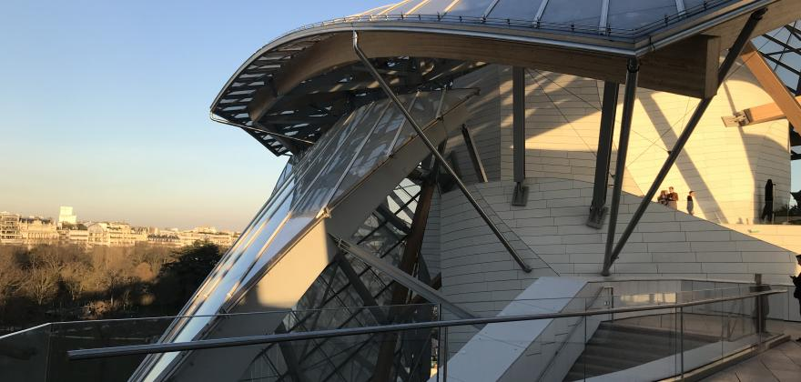 DISCOVERING THE ARCHITECTURE OF THE LOUIS VUITTON FOUNDATION