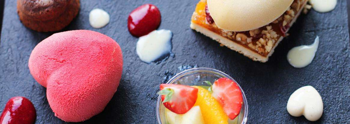 Your Valentine's Day menu at Le Mans Country Club