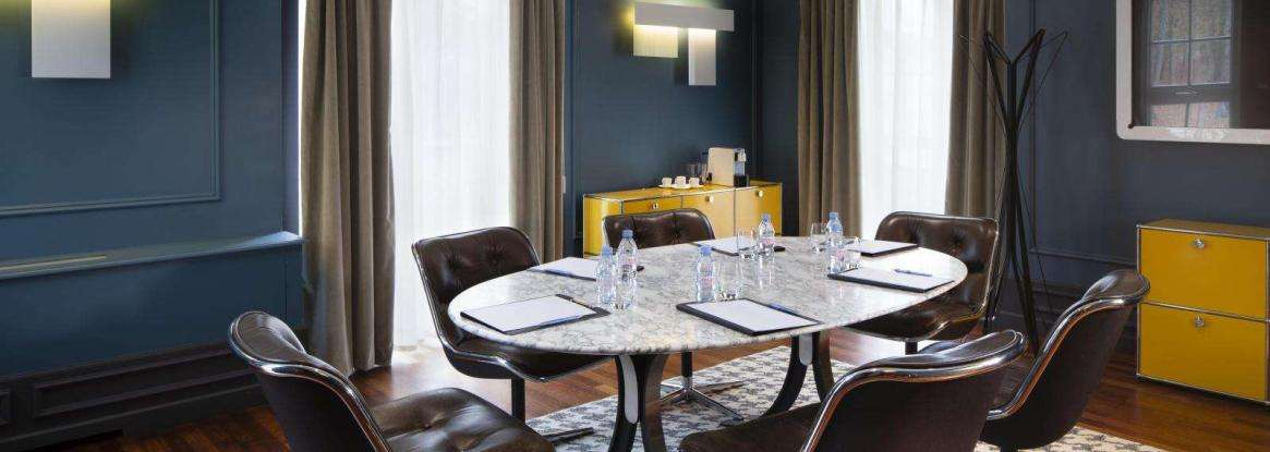 The Hotel Le Mans Country Club's seminar services continue