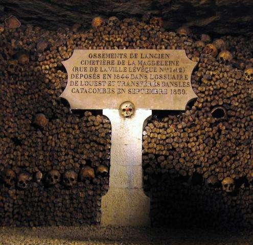 Paris underground : visit the Catacombs