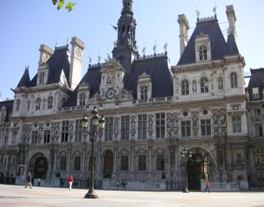 The Paris City Hall