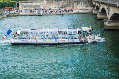 See Paris from the water with a cruise on the Seine