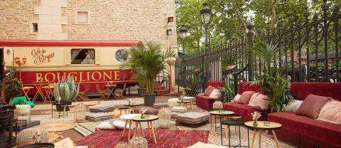 Gypsy; the summer terrace of the Cirque d'Hiver
