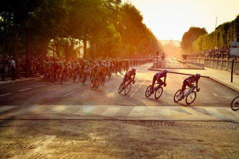 The Tour de France and sun-drenched beaches in Paris