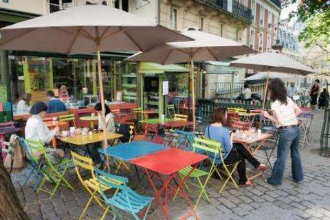 Paris Beaches and lunch on the beautiful terraces of restaurants