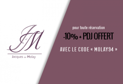 Hotel Jacques de Molay - Offres