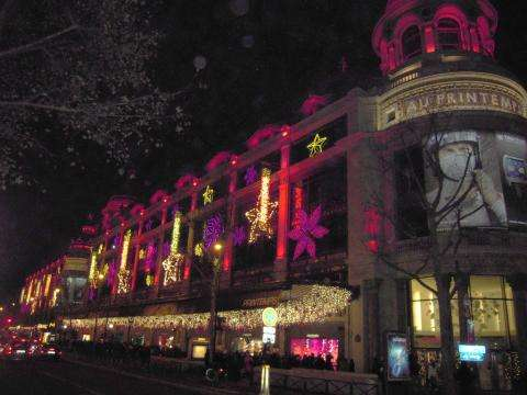 Christmas in Paris; live the dream