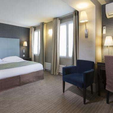 Hotel Passy Eiffel - Chambre deluxe double
