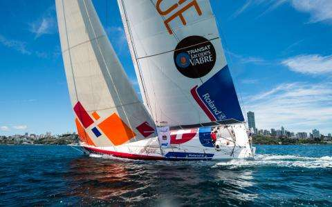 Transat Jacques Vabre, in the heart of the city of Salvador
